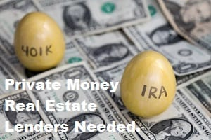 Find Private Money Real Estate Lenders