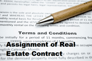 Assignment of Real Estate Contract 450 x 260